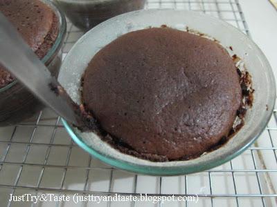 Resep Molten Chocolate Cake JTT