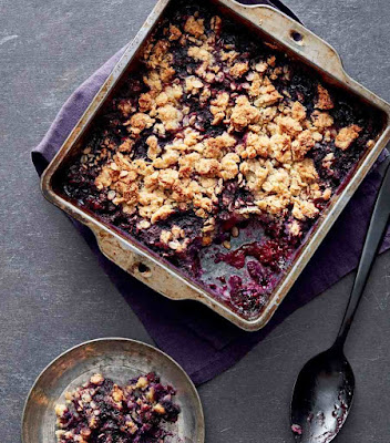 Healthy Mixed Berry Crumble Recipe