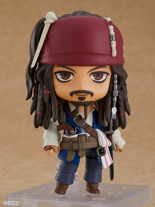 Pirates of the Caribbean: On Stranger Tides - Nendoroid Jack Sparrow (Good Smile Company)