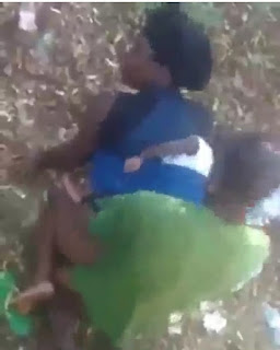 Between A Lady Backing Her Baby And A Man 5