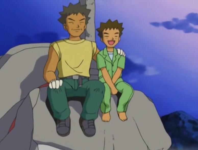 Jovem Brock e Flint