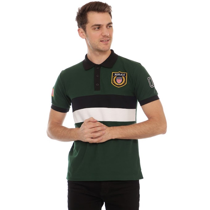 Polo Shirt Exclusive Series Brooken Dark Green