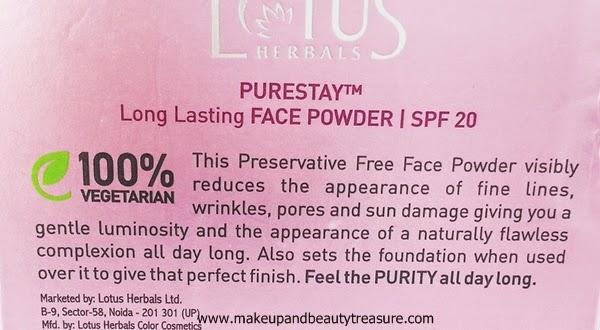 Lotus-Herbals-Compact-Powder-Review