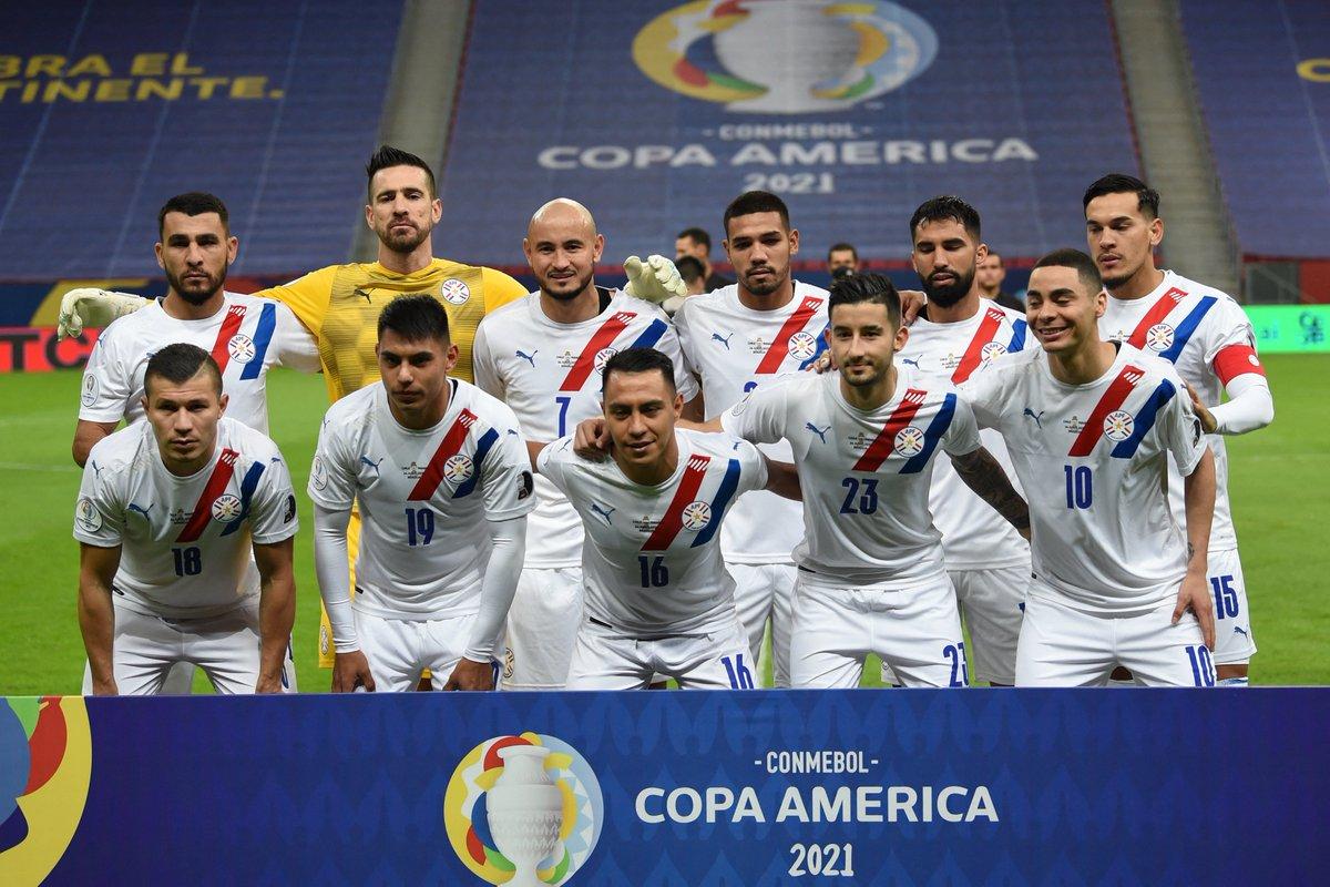 Formación de Paraguay ante Chile, Copa América 2021, 24 de junio