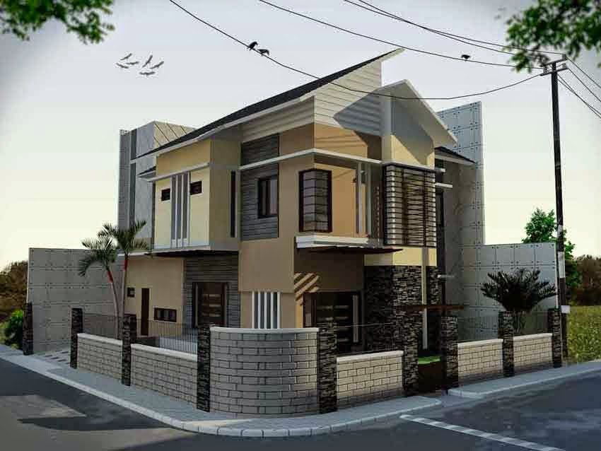 Desain Rumah Minimalis 2 Lantai Hook