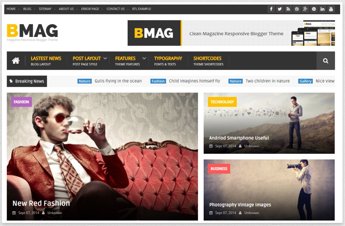 BMAG-Blogger-Template