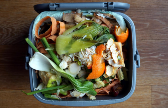how to make compost from kitchen waste