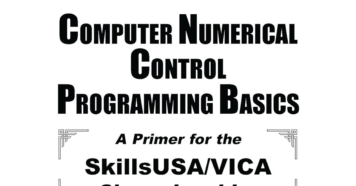 CNC Computer Numerical Control Programmig Basics