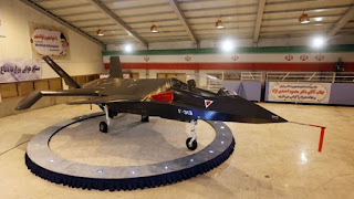 Iran unveils homegrown Qaher F-313 'Stealth Fighter' Plane