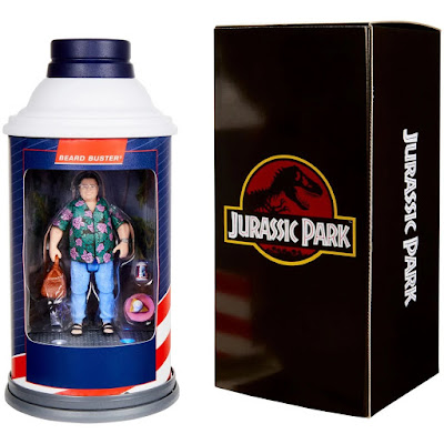 San Diego Comic-Con 2020 Exclusive Jurassic Park Barbasol Dennis Nedry Action Figure by Mattel x Entertainment Earth
