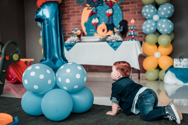 Birthday Party Ideas for Toddlers (1-3 yrs.)