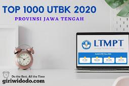 Top 1000 sekolah terbaik UTBK 2020 Jawa Tengah