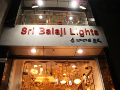 Sri Balaji lights Secunderabad,