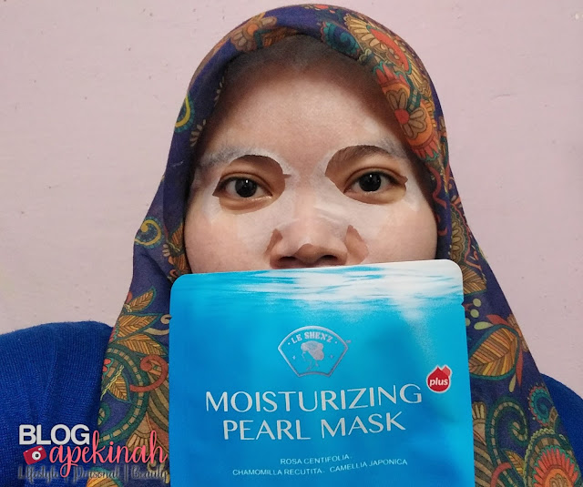 Muka Lebih Lembap Dengan Le Shenz Moisturizing Pearl Mask