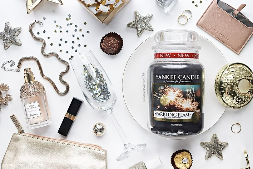 Yankee Candle Sparkling Flame recenzja blog
