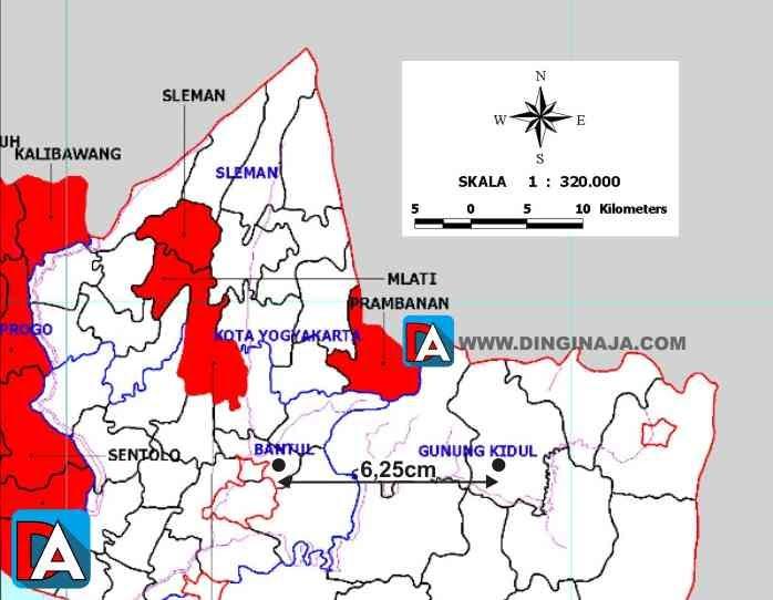 Dari sabang sampai merauke, indonesia terdiri dari berbagai suku bangsa, bahasa, dan agama. Cara Membaca Skala Pada Peta Dinginaja