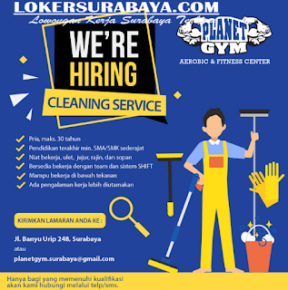 We Are Hiring Planet Gym Surabaya Terbaru Juni 2019