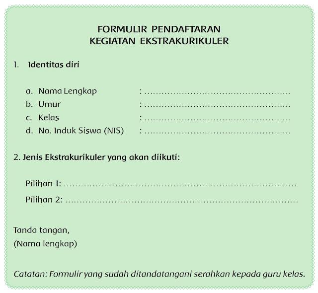 Contoh Formulir