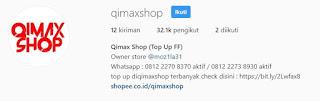Qimaxshop Free Fire