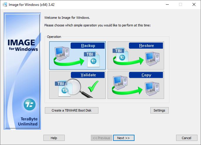 TeraByte Drive Image Backup & Restore Suite v3.42 + Keygen + WinPE