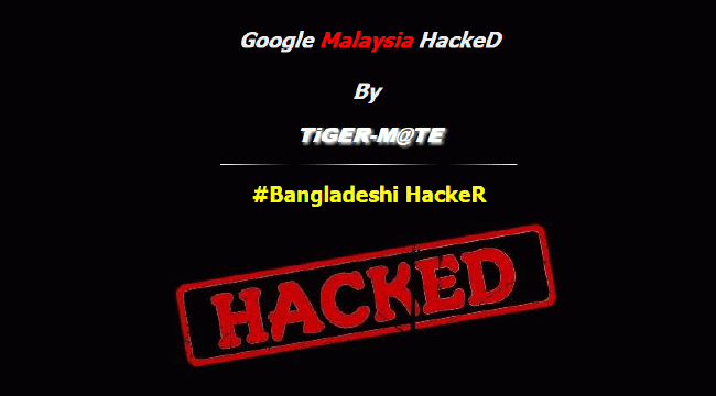 How google malaysia was hacked