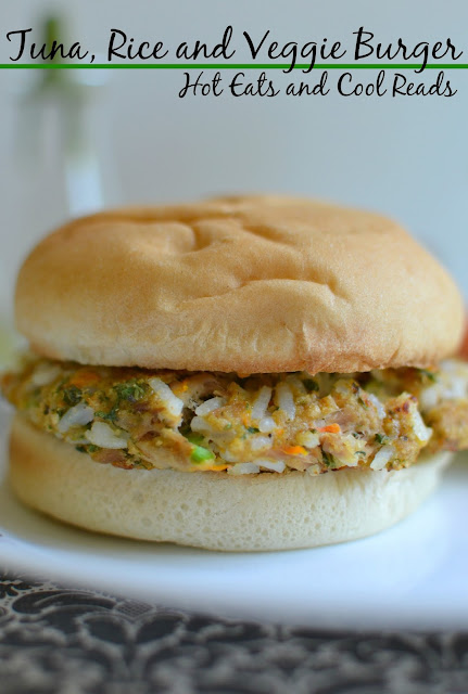 Budget friendly and delicious! These burgers are SO easy to make and are great for lunch or dinner! Tuna, Rice and Veggie Burger Recipe from Hot Eats and Cool Reads