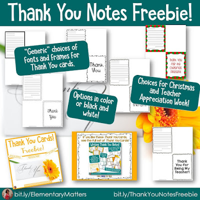 https://www.teacherspayteachers.com/Product/Thank-You-Cards-Freebie-5115442