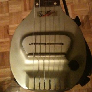Canadian Vintage Guitar Hunt 1938 Supro Frying Pan Lap Steel