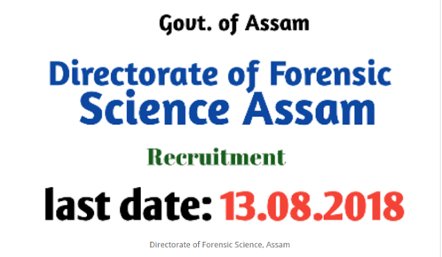 Latest Job, Latest Job in India, ASSAM, GOVT JOBS,