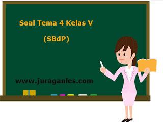 Soal Tematik Kelas 5 Tema 4 Kompetensi Dasar SBdP dan Kunci Jawaban