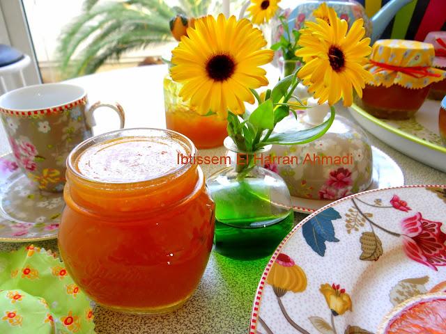 recette facile marmelade confiture d'orange