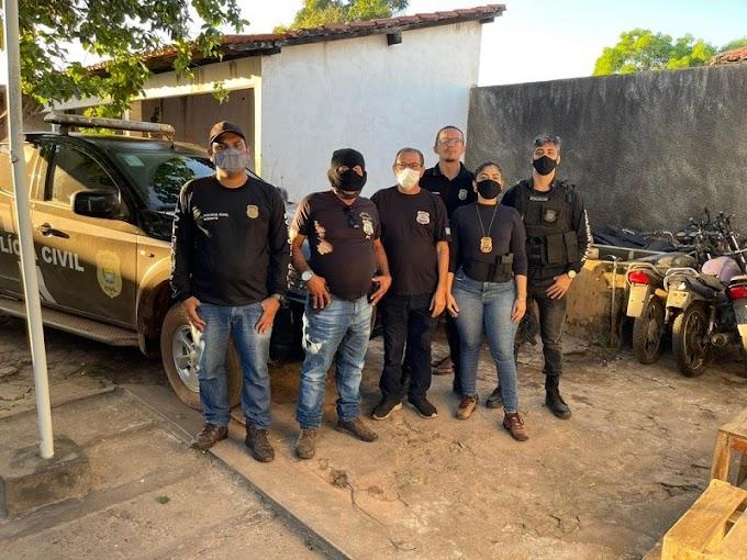 Polícia Civil prende 3 pessoas suspeitas de homicídio em Matias Olímpio-PI