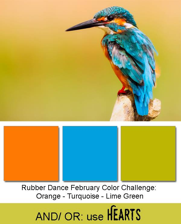 Rubber Dance February Challenge
