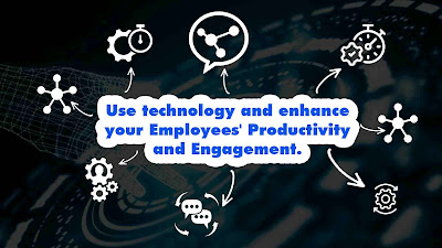 How Technology Helps to Enhance Employee Productivity and Engagement