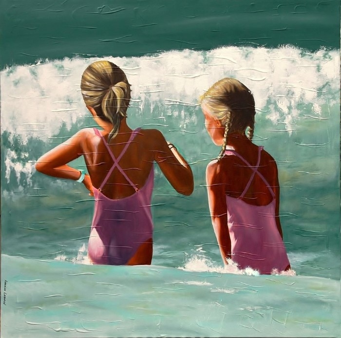Стоп-кадры прибрежной жизни. Lorraine Lebrun