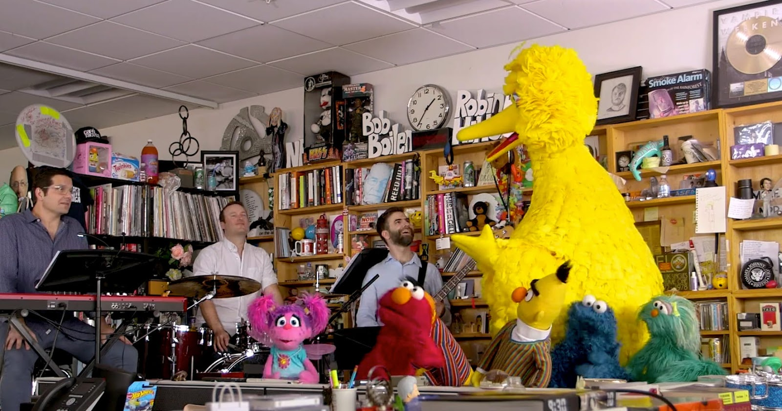 Muppets, Sesamstrasse, Sesamestreet, tiny desk concert, musik,