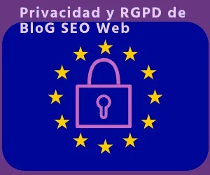 Privacidad, uso de cookies de blog seo web, blog de marketing. Reglamento general de protección de datos de la UNIÓN EUROPEA
