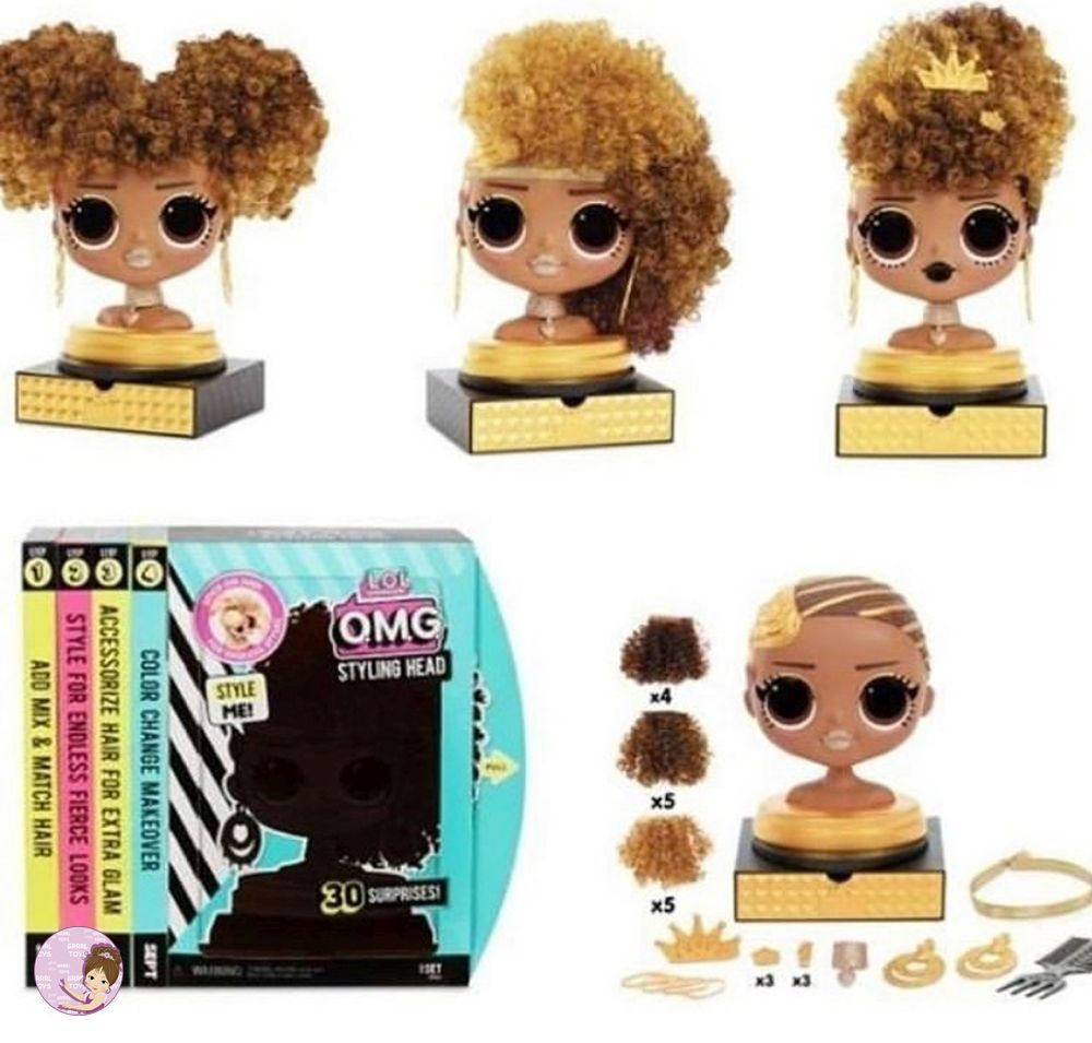 L.O.L. Surprise O.M.G. Royal Bee styling head first look
