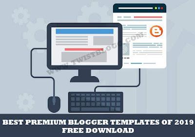 best premium blogger templates of 2019
