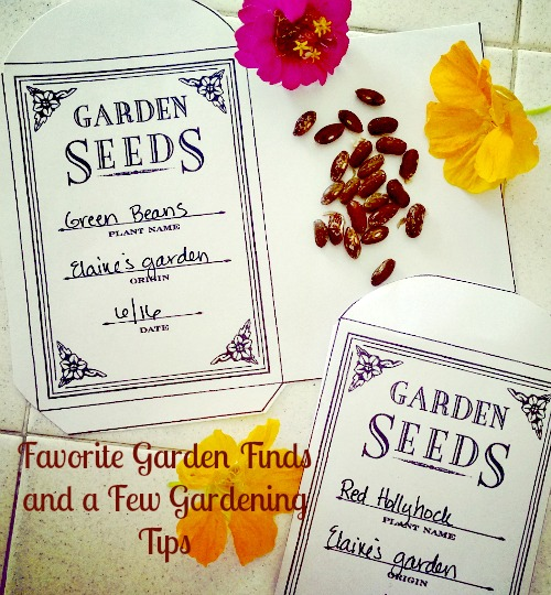 printable seed packets, best garden tools