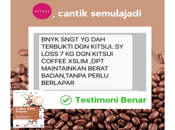 Testimoni Kitsui Coffee Xslim Shapez 1