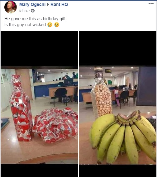 """""""Is This Guy Not Wicked"""" - Ladies Reveals What Her Got As Birthday Gift From Her 'Boyfriend'"""