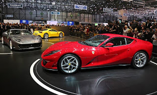 New Ferrari 812 Superfast Attend at Geneva Motor Show 2017