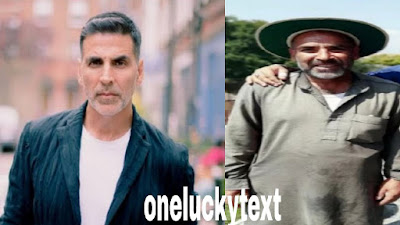 Pictures of Akshay Kumar's lookalike appeared on social media,