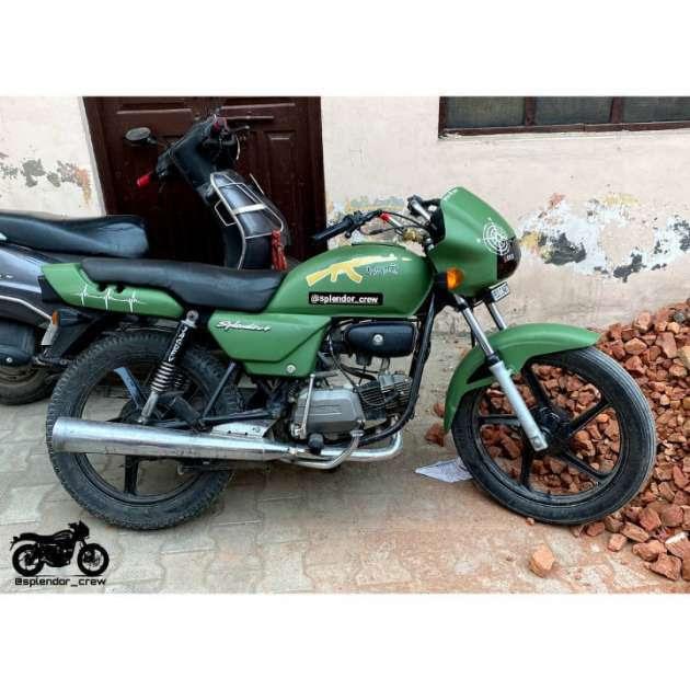 50+ Super Hero Splendor/plus Modified bikes 2020   hero honda, black, silver, photos, punjabi 2020