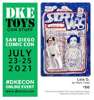 San Diego Comic-Con 2021 Exclusive STR WAS Leia O. Star Wars Resin Figure by Mark Todd x DKE Toys