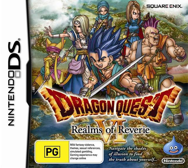 ROMs - Dragon Quest VI: Realms of Revelation  (Português) - NDS Download