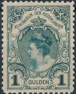 Netherlands 1898 Queen Wilhelmina Inauguration