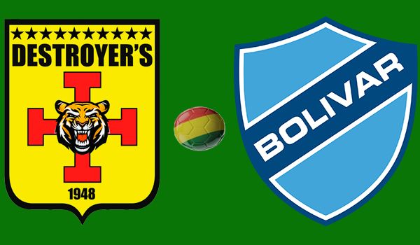 En vivo Destroyers vs. Bolívar - Torneo Apertura 2018