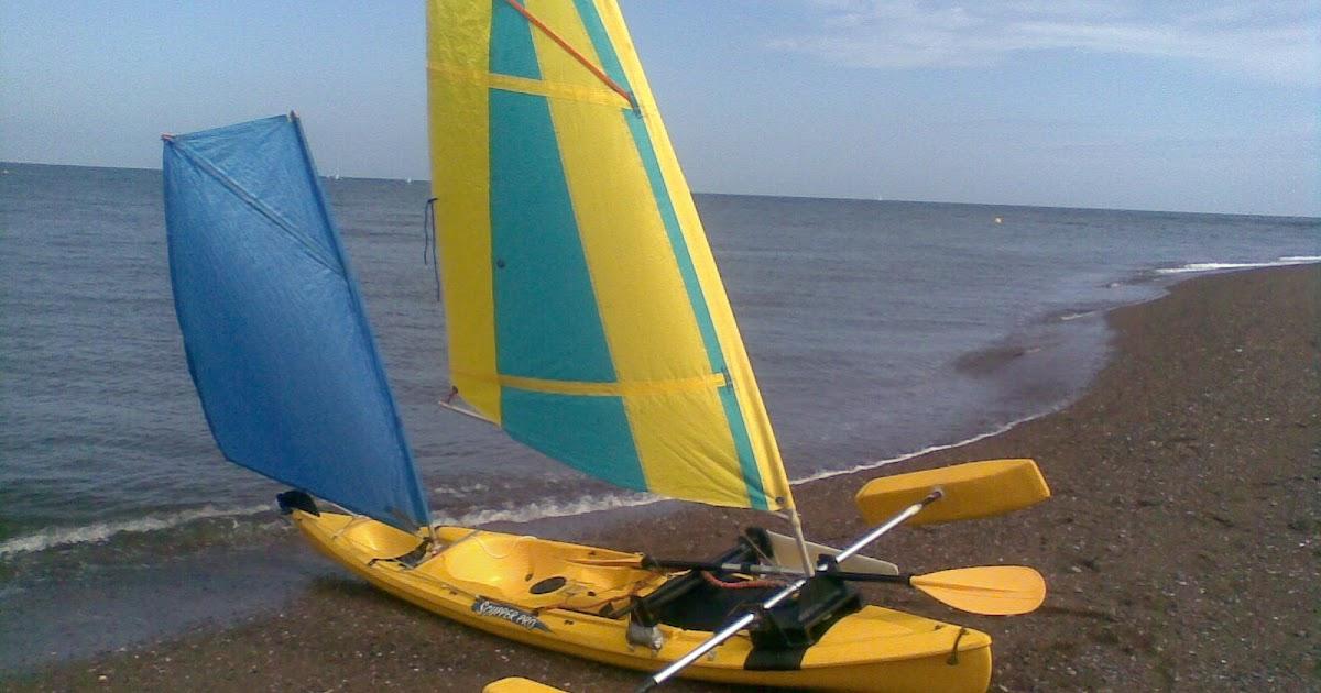 Kayak Sailing and boat building projects: Kayak Sailing